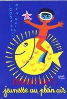CPM - JEUNESSE AU PLAIN AIR - Hervé MORVAN - Edit. Delrieu Paris - Collector Fairs & Bourses