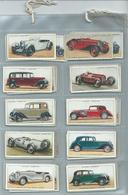 Players   Cigarette Cards  50/50 Full Set   Motor Cars - Player's