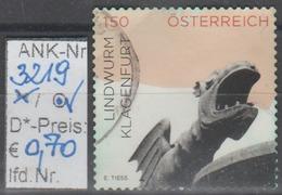 "1.3.2015 - Sk FM/DM  ""Impress. Aus Ö. - Lindwurm, Klagenfurt""  -   O Gestempelt  - Siehe Scan  (3219o) - 1945-.... 2. Republik"