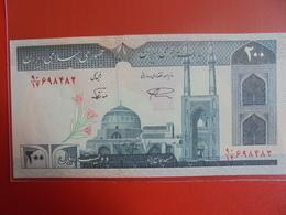 IRAN 200 RIALS 1982 PEU CIRCULER/NEUF - Iran