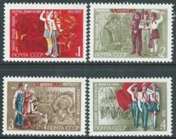 1972 RUSSIA UNIONE ORGANIZZAZIONE PIONIERI V.I. LENIN MNH ** - UR20-2 - Nuovi