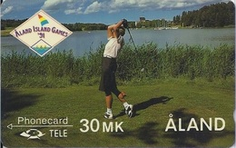 ALAND - ALAND ISLAND GAMES - GOLF - 4FINA - Aland