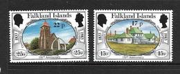 FALKLAND 1984 COURANTS SURCHAGES YVERT N°418/19 NEUF MNH** - Falkland