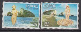 Cyprus 1979 Aphrodite 2v ** Mnh (42794D) - Ongebruikt