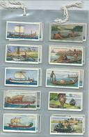 Churchman    Cigarette Cards  50/50 Full Set  The Story Of Navigation - Churchman