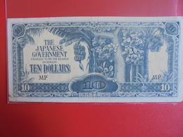 JAPON (TERRITOIRES OCCUPES 1940-45) 10$ PEU CIRCULER - Japan