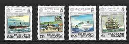 FALKLAND 1984 LA LISTE DE LA LLOYD'S YVERT N°420/23 NEUF MNH** - Falkland