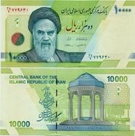 IRAN       10,000 Rials       P-159[b]       ND (2018)      UNC  [ Sign. 38 ] - [ 10000 ] - Irán