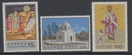 Cyprus 1966 Hl. Barnabas 3v ** Mnh (42794E) - Ongebruikt