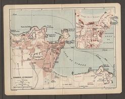 CARTE PLAN 1921 DINARD SAINT ENOGAT ILLE ET VILAINE (35) - GRAND CASINO HIGHT LIFE CASINO - Topographische Kaarten