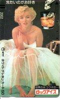 MARYLINE MONROE Cinéma Film Star  Femme Actrice Chanteuse Musique Girl Télécarte Phonecard (G 162) - Personnages