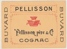 BUVARD - PELLISSON PERE - COGNAC - Buvards, Protège-cahiers Illustrés