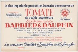 BUVARD - 13 - AIX EN PROVENCE - ETS BARBIER ET DAUPHIN - Buvards, Protège-cahiers Illustrés