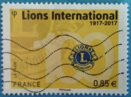 France 2017 : Centenaire Du Lions Clubs International N° 5152 Oblitéré - Oblitérés