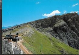 DOLOMITI - RIFUGIO AVERAU - TIMBRO DEL RIFUGIO - Alpinisme
