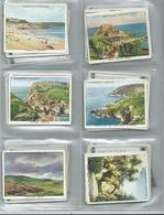 Churchman Cards  48/48 Full Set  Large Cards Holidays In Britain - Churchman