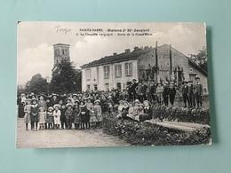 SAINTE-BARBE. - Maison J - M - Jacquot - Sortie De La Grand'Messe - France