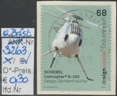 "17.10.2015  - SM ""Design A. Österr. - Schiebel Camcopter""  - O Gestempelt Auf Briefstück - Siehe Scan (3263o) - 1945-.... 2. Republik"