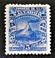 VOLCAN SAN MIGUEL 1896 - NEUF * - YT 135 - MI 144 - Venezuela
