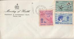 Enveloppe  FDC  1er  Jour   IRAN     Eradication  Du  Paludisme  Malaria   1962 - Disease