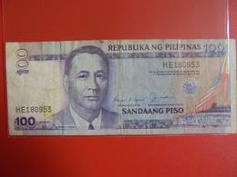 PHILIPPINES 100 PISO 1987-94 CIRCULER - Filippine