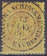 France - Yvert N° 81 Oblitéré Càd Affranchissement Le Havre - Marcophilie (Timbres Détachés)