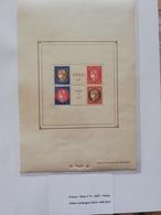 Bloc-Feuillet N°3, Exposition Paris PEXIP 1937, Neuf * TB Valeur Catalogue = 450.00 € - Blocs & Feuillets