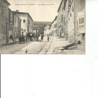 54-PONT SAINT VNCENT  RUE CARNOT VERS LE PONT - Autres Communes