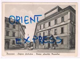 Bracciano Edificio Scolastico Piazza Arnaldo Mussolini Anni 40 - Viterbo