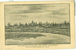 Denysow 1918; Am Strypa Fluss - Gelaufen. - Ukraine