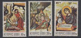 Cyprus 1972 Christmas / Weihnachten 3v ** Mnh (42794H) - Ongebruikt