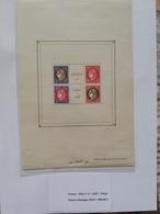 Bloc-Feuillet N°3, Exposition Paris PEXIP 1937, Neuf ** TB Valeur Catalogue 2019  = 900.00 € - Sheetlets
