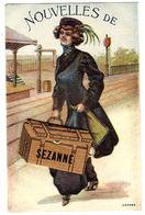 SEZANNE (51) - CARTE À SYSTÈME - Nouvelles De Sezanne - 8 Vues - Sezanne