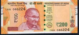 INDIA P113 200 Rupees 2017 Signature 22 UNC - India