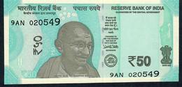 INDIA NLP 50 Rupees 2017 UNC. - India