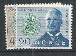 1969 MNH Norwegen, Hjort, Postfris - Nuovi