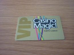 Greece Porto Carras Casino Magnetic Slot Player's Card VIP - Casinokarten