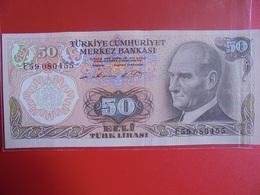 TURQUIE 50 LIRASI 1970(76) PEU CIRCULER/NEUF - Turquie