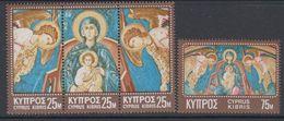 Cyprus 1970 Christmas / Weihnachten 4v ** Mnh (42795) - Ongebruikt