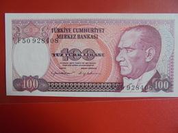 TURQUIE 100 LIRASI 1970(84) PEU CIRCULER/NEUF - Turquie