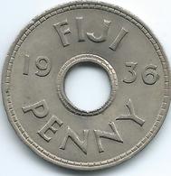 Fiji - Edward VIII - 1936 - 1 Penny - KM6 - Figi