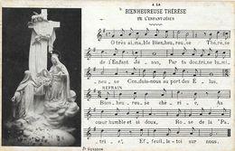 A La Bienheureuse Thérèse De L'Enfant Jésus - Partition Chant Religieux: Paroles Et Musique - Santi
