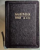 1941 AGENDA /.    Non Utilizzata - Calendars