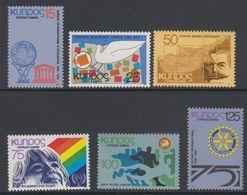 Cyprus 1979 Anniversaries 6v ** Mnh (42795C) - Ongebruikt