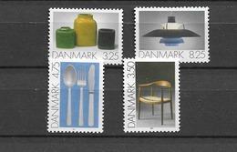 1991 MNH Danmark, Michel 1006-9 Postfris** - Danimarca