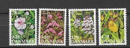 1990 MNH Danmark, Michel 981-4 Postfris** - Dänemark