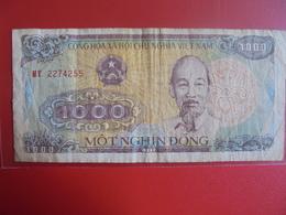 VIETNAM(NORD) 1000 DÔNG 1988 CIRCULER - Viêt-Nam