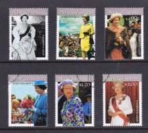 New Zealand 2001 Queen Elizabeth II Set Of 6 Used - New Zealand