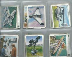 Churchman    Cigarette Cards  48/48 Full Set Large Cards Modern Wonders - Churchman