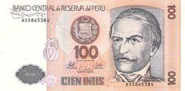 100 Intis Peru 1987 UNC - Peru